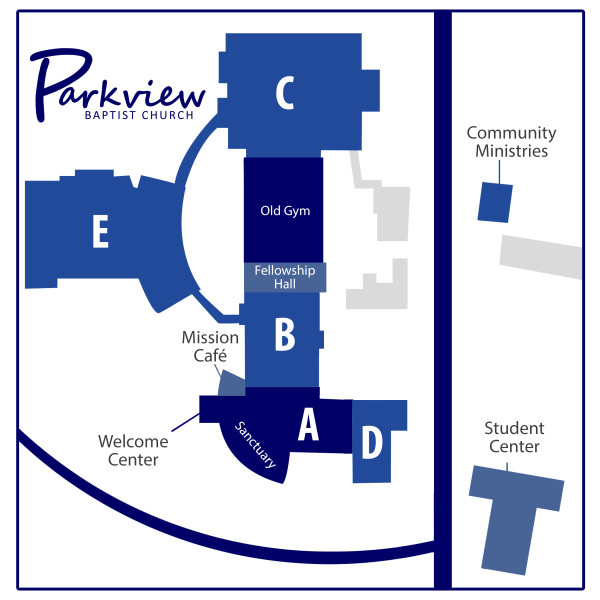 Campus Map Parkview Baptist Church